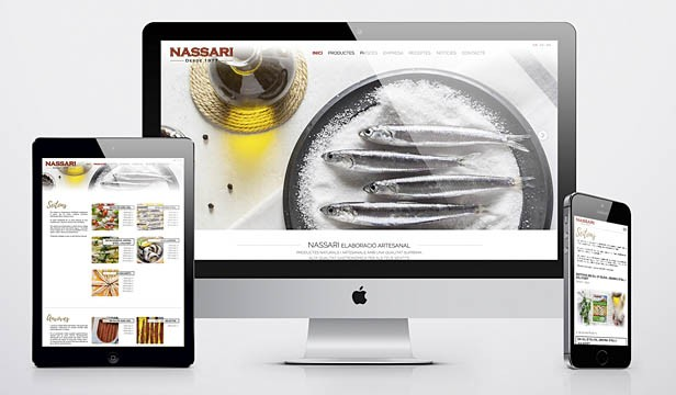 New website and new products Nassari